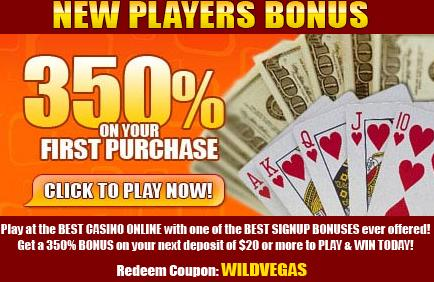 Wild Vegas Casino  No deposit casino bonus . May 12, 2010
