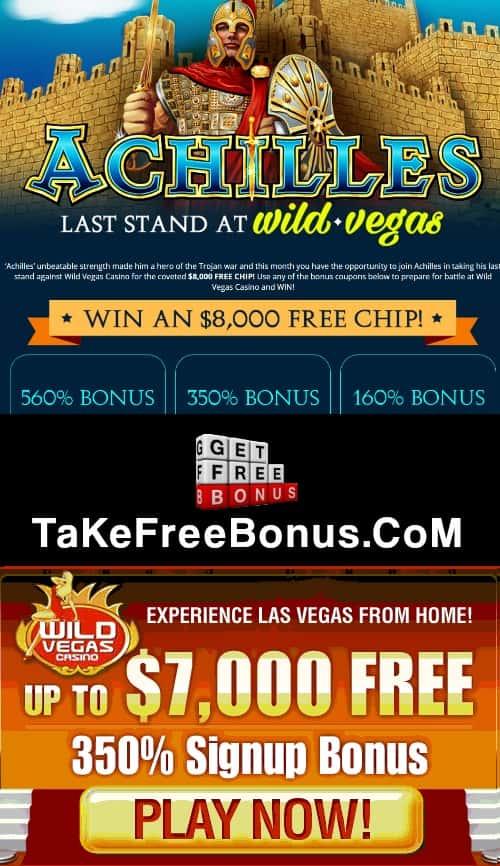 Review at wild vegas casino no deposit codes