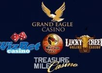 50 Free Spin at Treasure Mile – Grand Eagle –  WizBet –  Mandarin Palace – Lucky Creek March/2019