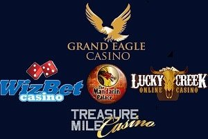 Treasure Mile Casino – Grand Eagle – WizBet Casino – Mandarin Palace Casino – Lucky Creek Casino 12 Free Spins. September 13, 2016