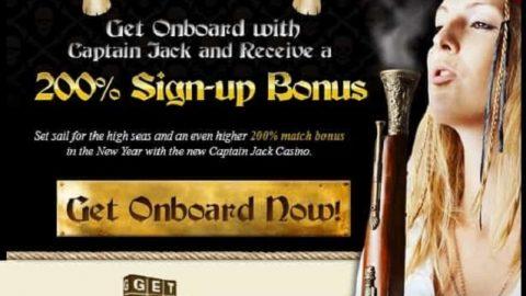 Captain Jack Casino no deposit bonus